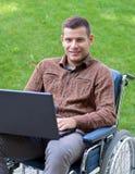 Handicapzakenman Stock Fotografie
