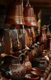 Handicraft. Stand with craft in Zakopane royalty free illustration
