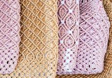 Handicraft bag Royalty Free Stock Photos