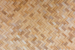 Handicraft bamboo weave with handmade Stock Images