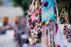 Handicraft in Bazaar Royalty Free Stock Photos