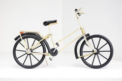 Handicraft of bicycle model Royalty Free Stock Photography