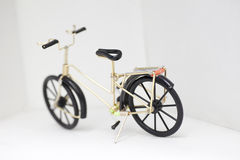 Handicraft of bicycle model Stock Photography
