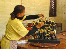 Handicraft in Cambodia Stock Photography