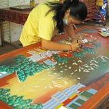 Handicraft in Cambodia Royalty Free Stock Photo