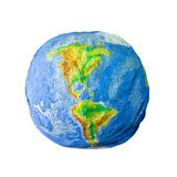 Handicraft Earth Globe Stock Photos