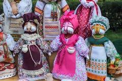 Handicraft ethnic  style dolls. Handicraft decorative dolls, ethnic style toy Stock Images