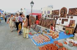 Handicraft Fair in Kolkata Stock Photo