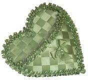 Handicraft heart Royalty Free Stock Photography