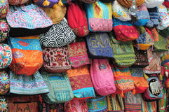 Handicraft of hong kong. The pictures show the handicraft (bags Royalty Free Stock Image