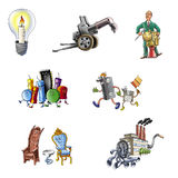Handicraft and industry_1 Stock Photo