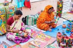 Handicraft items on display , Kolkata Stock Photography