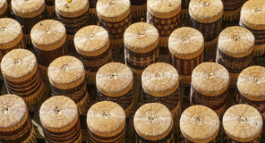 Handicraft made of bamboo for sale Stock Photography