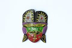 The handicraft mask Stock Photo