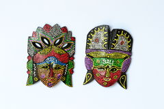 The handicraft mask Royalty Free Stock Image