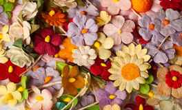 Handicraft paper flower Royalty Free Stock Photo