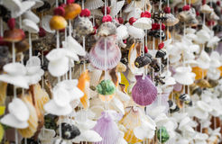 Handicraft from seashell Stock Photo