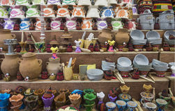 Handicraft shop. Royalty Free Stock Photos