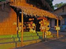 Handicraft Store. Rustic Handicraft Store - Alter do Chao - Santarem - Amazonia - Brazil stock photos