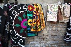 Handicraft in Uzbekistan stock images