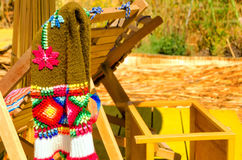 Handicraft View in Peru Royalty Free Stock Images