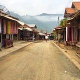 Handicraft village. At Luang Prabang Stock Images