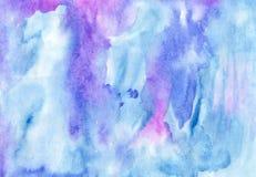 Handicrafted watercolour tło dla scrapbooking i inny Zdjęcia Royalty Free