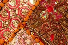 Handicrafts cloth texture Stock Photo