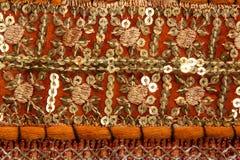 Handicrafts cloth texture Stock Photos