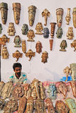 Handicrafts in India Stock Image