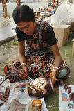 Handicrafts in India Royalty Free Stock Images