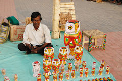 Handicrafts in India Stock Photo
