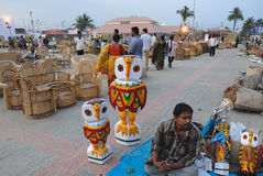 Handicrafts in India Stock Images