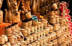 Handicrafts Of India Stock Images