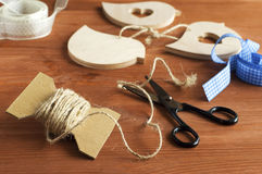 Handicrafts made of wood Royalty Free Stock Photo