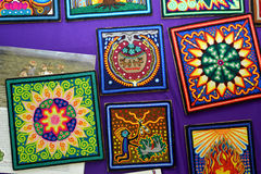 Handicrafts of mexico Royalty Free Stock Photography