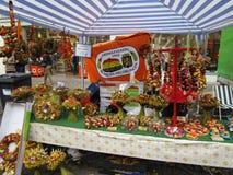 Handicrafts on Onion Festival in Weimar Stock Photo