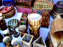 Handicrafts. Produced by indigenous people of Bandarban Bangladesh Royalty Free Stock Photos