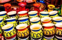 Handicrafts. Traditional crafts to ingest liquids Stock Photos