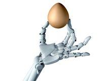 Handige robot Stock Afbeelding