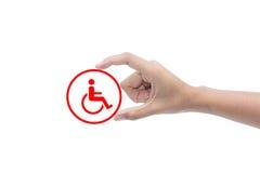handikapp Royaltyfri Bild