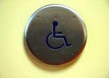 handikapp Arkivfoto