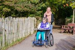 handikapp Fotografering för Bildbyråer