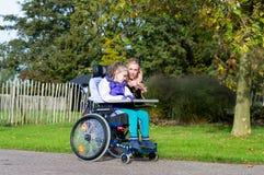 handikapp Royaltyfria Foton