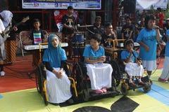 Handikapp utför Royaltyfria Foton