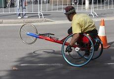 handikappad racer arkivbilder