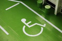 Handikappade personer Royaltyfria Foton