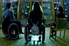 handikappat Arkivfoton