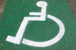 handikappat Royaltyfria Bilder