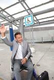 handikappat folk för lättheter arkivfoto
